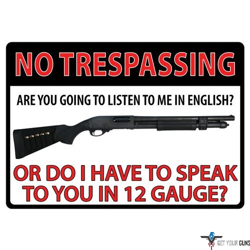 Rivers Edge Products Turn In Your Weapons Tin Sign Metal Sign Metal