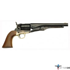"TRADITIONS 1860 COLT ARMY .44 REVOLVER 8"" CC/STEEL FRAME"