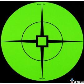 "B/C TARGET SPOTS 6"" TARGET 10 TARGETS GREEN"