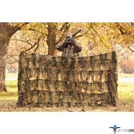 RED ROCK GHILLIE BLIND 4'X8' WOODLAND CAMOUFLAGE NETTING