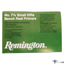 REM PRIMERS- SMALL RIFLE 5000-PK (5EA.-1000)