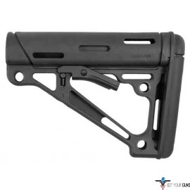 HOGUE AR-15 COLLAPSIBLE STOCK BLACK RUBBER MIL-SPEC