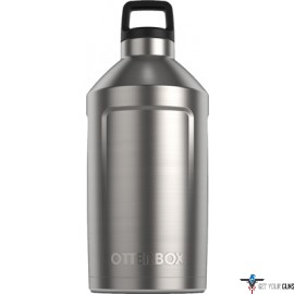 OTTERBOX ELEVATION GROWLER W/ TWIST ON LID 64OZ BLACK/SS