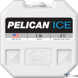 PELICAN 1IB ICE PACK WHITE REUSABLE