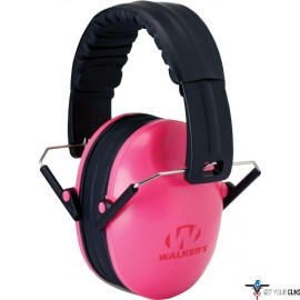 WALKERS MUFF HEARING PROTECTION CHILDRENS 23dB PINK