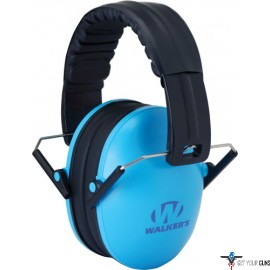 WALKERS MUFF HEARING INFANT TO TODDLER GROWBAND 22dB LT BLUE