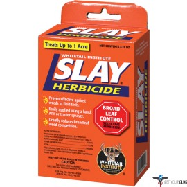 WHITETAIL INSTITUTE HERBICIDE SLAY BROADLEAF 4OZ 1ACRE