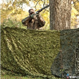 RED ROCK CAMOUFLAGE NETTING WOODLAND 3D LEAF CUT 8'X10'