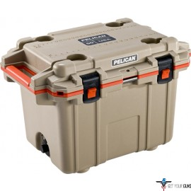 PELICAN COOLERS IM 50 QUART ELITE TAN/ORANGE