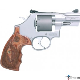 """S&W 986 PERFORMANCE CENTER 9MM 7-SHOT 2.5"""" STAINLESS SYN"""