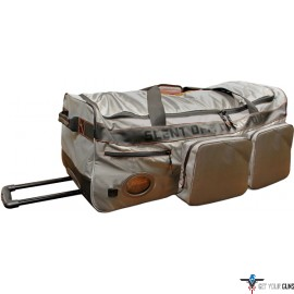 """SCENTCRUSHER OZONE ROLLER BAG W/ 10"""" INSULATED EXT POCKET"""