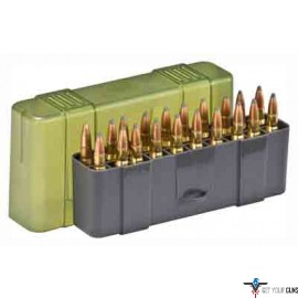 PLANO AMMO BOX LARGE RIFLE 20-RNDS SLIP TOP 6PK CASE LOT