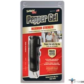 SABRE RUGER RED PEPPER GEL SPRAY FLIP TOP BLACK 15GR