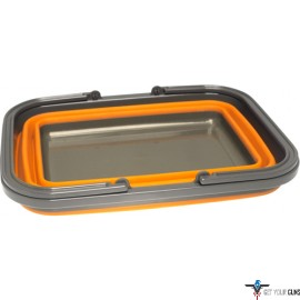 "UST FLEXWARE SINK ORANGE 2.25 GALLON CAPACITY 15""X11.4""X5.9"""