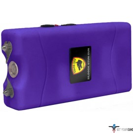 GUARD DOG DISABLER STUN GUN W/ LED LIGHT RECHARGEABLE PURP