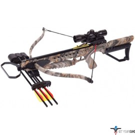 CENTERPOINT CROSSBOW KIT TYRO RECURVE 245FPS CAMO