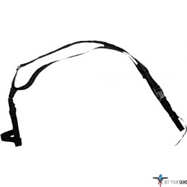 BULLDOG 3 POINT TACTICAL QUICK RELEASE SLING BLACK