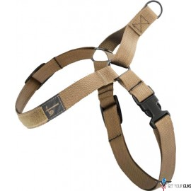 "US TACTICAL K9 HARNESS X-LARGE UP TO 30-53"" COYOTE"