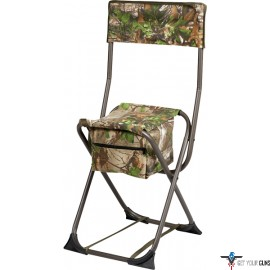 HS DOVE STOOL FOLDING W/BACK REALTREE EDGE