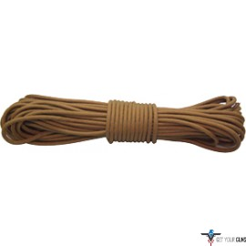 RED ROCK 550 PARACHUTE CORD 50 FEET COYOTE