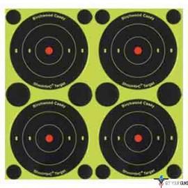 "B/C TARGET SHOOT-N-C 3"" BULL'S-EYE 48 TARGETS"