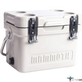MAMMOTH CRUISER SERIES COOLERS 15 QUART WHITE/WHITE W/HANDLE