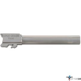 "APEX BARREL 5"" 9MM S/S SEMI DROP-IN M&P9/M2.0"