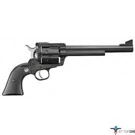"RUGER BLACKHAWK .45LC 7.5"" AS BLUED BLACK CHECKERED SYN"