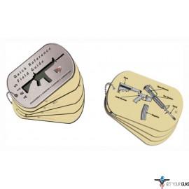 REAL AVID AR-15 FIELD GUIDE AR-15 MAINTENANCE CARDS