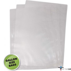 "WESTON 11""X16"" (GALLON) VAC SEALER BAGS 20 COUNT"