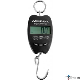 MUDDY 330LB DIGITAL SCALE MEASURES IN LBS/KILOS/STONES