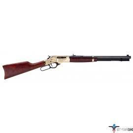 "HENRY LEVER RIFLE .30-30 20"" BRASS WILDLIFE EDITION"