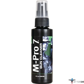 HOPPES M-PRO 7 GUN CLEANER 4OZ. PUMP SPRAY BOTTLE
