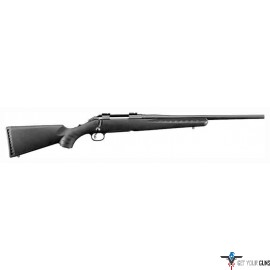 "RUGER AMERICAN COMPACT .308WIN 18"" MATTE BLACK COMPOSITE *"