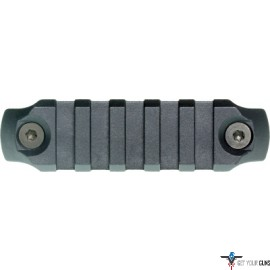 "BCM RAIL SECTION--NYLON KEYMOD 3"" RAIL BLACK"
