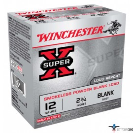 "WIN BLANKS 12GA. 2.75"" 25-PACK SMOKELESS"