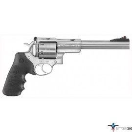 "RUGER SUPER REDHAWK .480RUGER 7.5"" AS STAINLESS HOGUE TAMER*"
