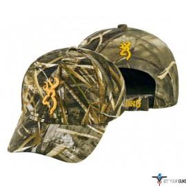 BG RIMFIRE CAP BUCK MARK LOGO RTM5 HOOK AND LOOP BACK