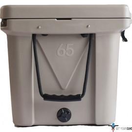 MAMMOTH RANGER SERIES COOLERS 65 QUART TAN W/ROPE HANDLES