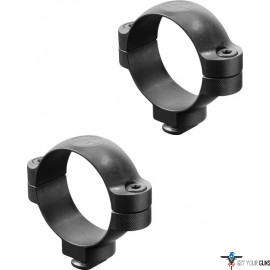 LEUPOLD DUAL DOVETAIL RINGS 34MM HIGH BLACK MATTE