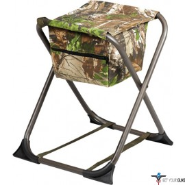HS DOVE STOOL FOLDING NO BACK REALTREE XTRA GREEN