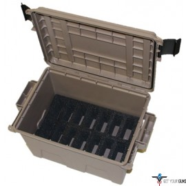 MTM TACTICAL MAGAZINE CAN DARK EARTH HOLDS 14 .308 MAGS