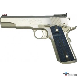 COLT GOLD CUP STAINLESS 9MM AS 8-SHOT G10