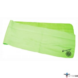 FROGG TOGGS COOLING TOWEL HEAD BAND CHILLY-SPORT GREEN