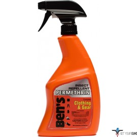 AMK BEN'S INSECT REPELLENT PERMETHRIN CLOTHING/GEAR 24OZ