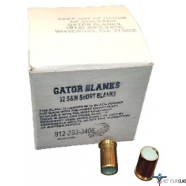GATOR BLACKPOWDER BLANKS .32SW 50-PACK