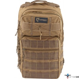"DRAGO RANGER LAPTOP BACKPACK HOLD UP TO 15"" COMPUTER TAN"