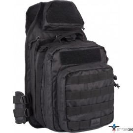 RED ROCK RECON SLING BAG BLACK TEAR AWAY FEATURE MAIN COMPART