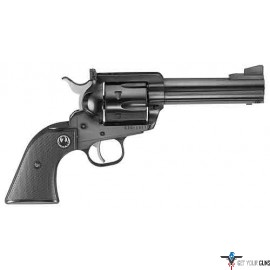 "RUGER BLACKHAWK .45LC 4-5/8"" AS BLUED BLACK CHECKERED"
