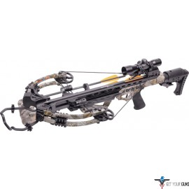 CENTERPOINT CROSSBOW KIT HEAT 415FPS GOD'S COUNTRY CAMO